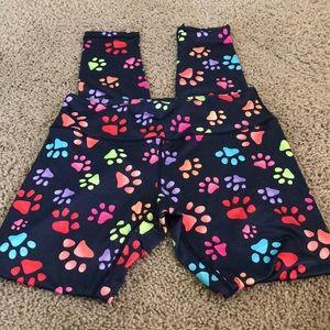 Pants - Women's Paw Print Legging